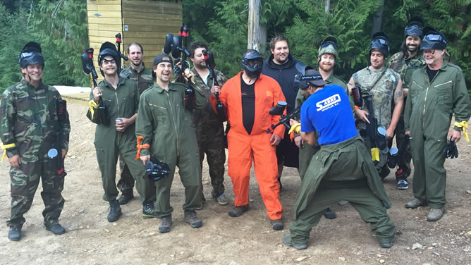 Avalanche Whistler Paintball Bachelors