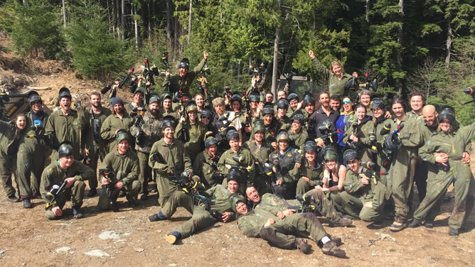 Avalanche Whistler Paintball Staff
