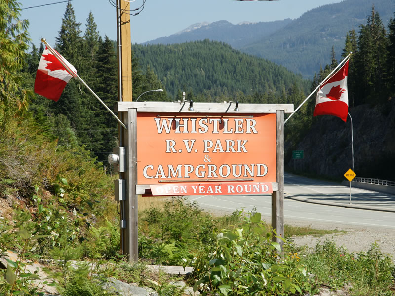 The Whistler RV Park & Campgrounds